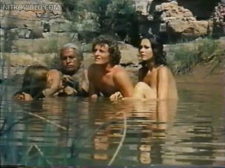 Disingenuous Belinda Balaski and Lynda Carter Swimming Topless in a Hot Scene