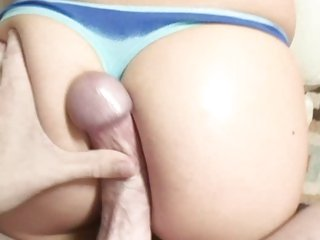 Sizzling Lexi Belle torments this dig out in her thong