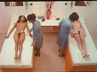 Laura Gemser & Michele Starck stripped in Black Cobra 1