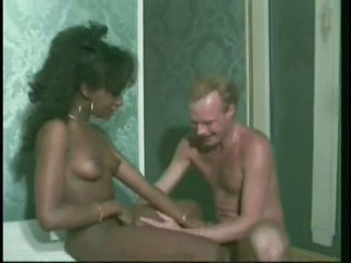 Black and Blond Cuties Getting Fucked Hard By White Dongs