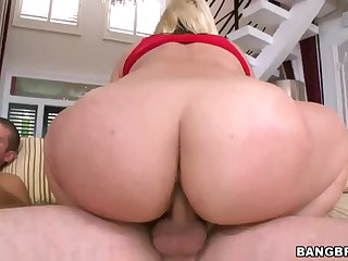 Carmen Michaels and Sarah Vandella one as well as the other with irresistibly sexy large asses and tight wet holes that they love to receive stuffed. These large booty sluts receive their pussies banged by fingers and cocks in this hot foursome action.