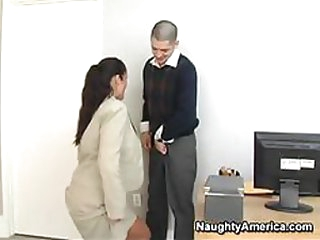 Immodest Boss Fucking Her Assistant