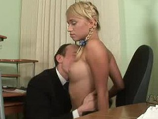 X-rated student acquires a fix of hard teacher's rod