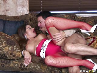 horny cathy heaven loves a hard ramrod in her ass