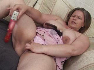 european mature and their way big dildo