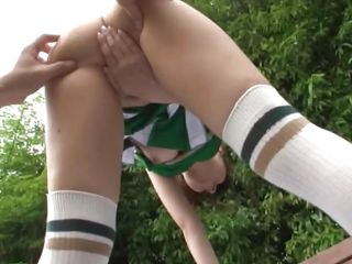 japanese schoolgirls have a great raunchy experience
