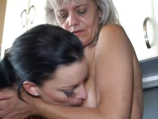 True story: my grandma taught me how it is to be a lesbian. It started one day in her kitchen, wherein this babe opened my eyes to the wonderful world of making out with a woman. That babe showed me how to take up with the tongue a pussy properly, how to play with breasts and how to basically turn on a lady using my own body!