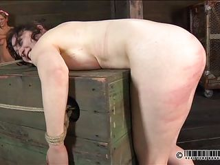 screwed up slut spanked and rubbed