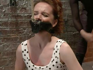 annabelle receives a wonderful whipping on the floor