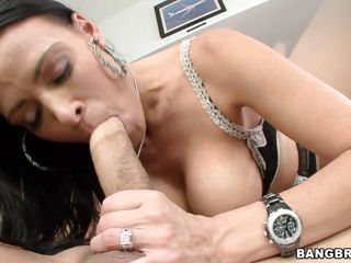 hot housekeeper sucks cock and fingers pussy