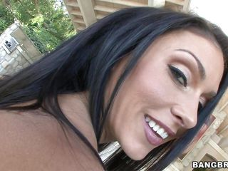 Jessica Jaymes is a raven-haired honey with large tits and a tight body. That babe has a little dip in the jacuzzi. After getting wet for a little while, she gets out and has her a fine mouthful of dick. For her, sucking a cock is a lot greater amount fun than a swim in the water.