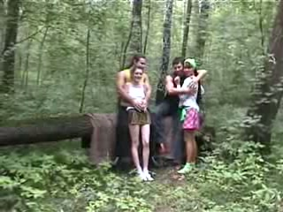Banging Some Sluts In dramatize expunge Woods
