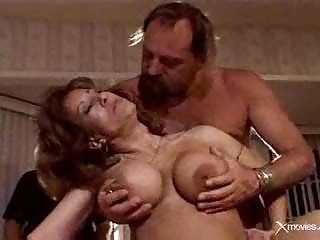 Adhering his old wife exploited overwrought 3 hard cocks.F70