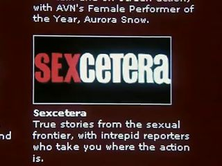 This edition of Sexcetera features Boston Babydolls, and has behind-the-scenes interviews with the models and how to see the videos online. The next story has a reporter in Italy, covering a Florentine photographer whose specialty is in nude women. The women are sexy and the show is informative.