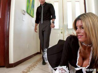 horny milf blonde kristal summers is maid's unalterable