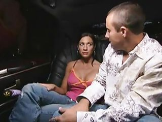 This episode begins out with Patrick and Christina hooking up while Erik and Josephina are getting comfortable together with Erik using a vibrator to massage her. They switch partners on the limo ride to a massage parlor and Josephina acquires all the attention as Christina and Patrick go down on her.