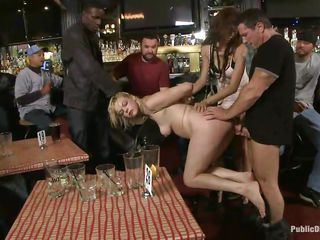 Take a look at that ass, surely it deserves a wonderful hard fuck and a lot of applause from the ones who are watching it. This dumb slut is the center of attention as this babe is getting fisted by that hottie and by a guy. After playing with their hands in her ass it's time to stick a big hard dick in there, don't you think so?