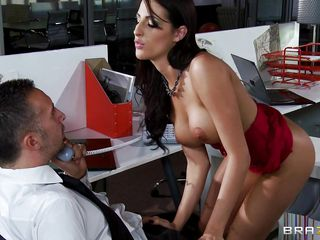 lady in red-hot is begging be required of some pecker