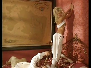 People liked to fuck dirty in the napoleon age just like they used to do now. Check out this guy and how he plays with his pretty blonde previous to getting down and dirty with her. Yeah, this beautiful milf likes playing games previous to opening her mouth in front of a hard cock. Let's see how the game will proceed