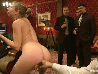 Chastity Lynn is a hawt blonde milf who likes playing sex games during the time that people are watching. Beretta James and Dylan Ryan are there to make her feel unthinkable pleasure, fingering her wet crack and asshole. Derrick Pierce wants to try out her soft lips around his white meaty cock. Watch her getting mouth fucked.