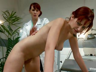 redhead doc treats her patients at hand love