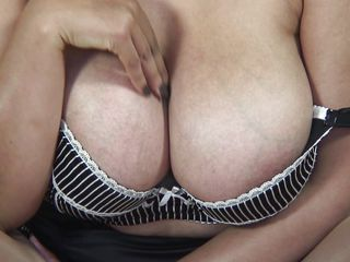 european mature with huge breasts could use a wang