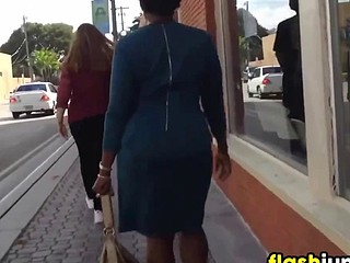 Following This Black Woman In A Suit