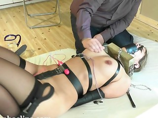hard bondage lesson s&m