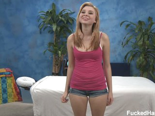 Naive Molly is ready to undress