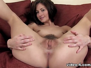 Amazing pornstar in Amazing Solo Girl, Hairy porn movie