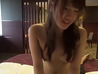 Asian couple having sex in living room 2014091803