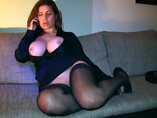 Stop Ich will dein Sperma auf meinen geilen Telefon-Bitch-MegaTitten