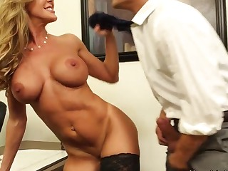 Brandi Love - first sex teacher be required of virgin student Xander Corvus