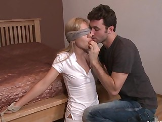Hot Little Blonde Promised added to Gang Banged