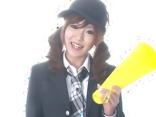 Fabulous Japanese chick Miku Airi in Incredible JAV uncensored Handjobs video