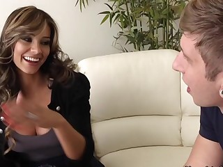 Esperanza Gomez & Danny Wylde in My Friends Hot Mammy