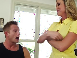 Brandi Love & Law Bailey in My Friends Hot Mom