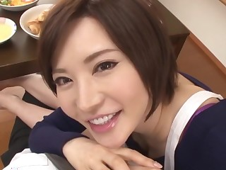 Exotic Japanese model Yuria Satomi in Best couple, pov JAV movie