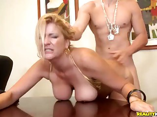 Sex Obsessed Busty Milf Boss Robbye Bentley