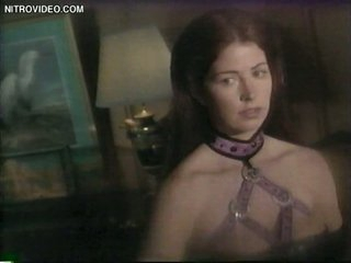 Super Insatiable Restrain bondage Episode Featuring Brunette Babe Dana Delany