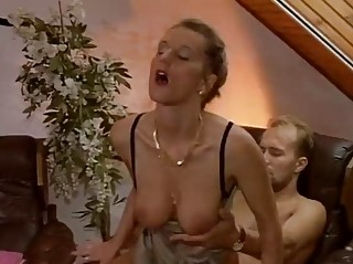 German girl gets drilled pt 1/2