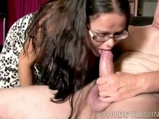 Cute big sweetheart loves to swell up cock