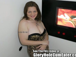 Molly Gives Us A Gloryhole BJ