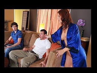 Overworked and undersexed Syren DeMer is one hot mother I'd like to fuck. As her son and his friend take it easy, this hottie spends the day tidying up. When finished her chores, however, Syren knows just how to relax, taking a hawt bath in the middle of the afternoon. But when Jordan, her son's ally, wanders in and spies on the sultry temptress, Syren exacts a vengeance which, in this case, is most good served HAWT!