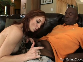 Riley retrograde in cum gnawing away cuckolds