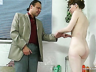 Marina&Hubert oldman sex action