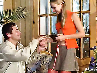 Florence&Igor attractive nylon movie