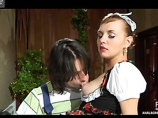 Aubrey&Gerhard vehement anal movie