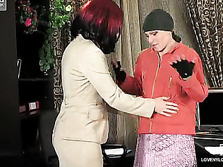 Gwendolen&Ira horny nylon movie