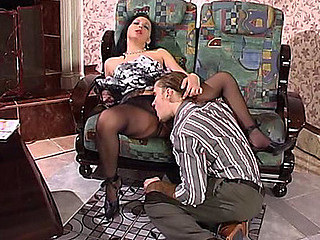 Laura&Mike videotaped not later than the time go off at a tangent pantyhosing